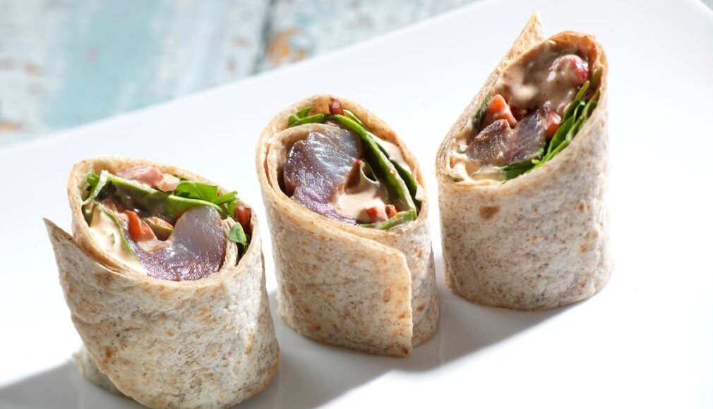 Spicy wrap med matjessild